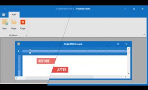 DevExpress Winforms使用技巧教程:如何设置较厚的表格边框