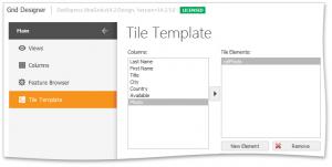 DevExpress WinForms使用教程:Tile View - 基础知识